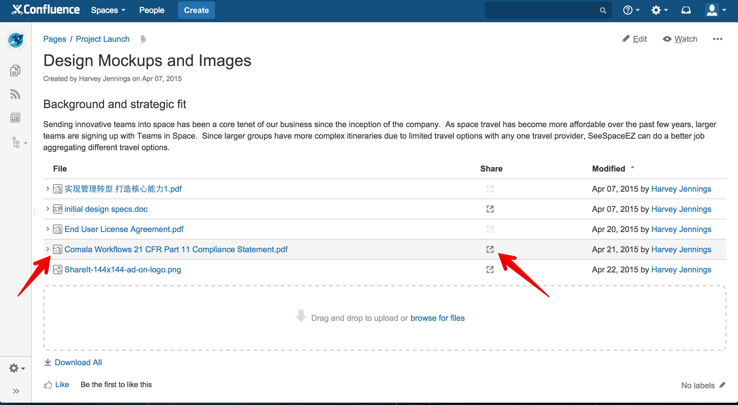 using confluence for document management