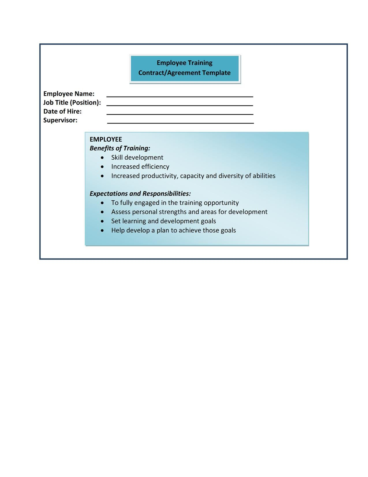 human resources management policy document