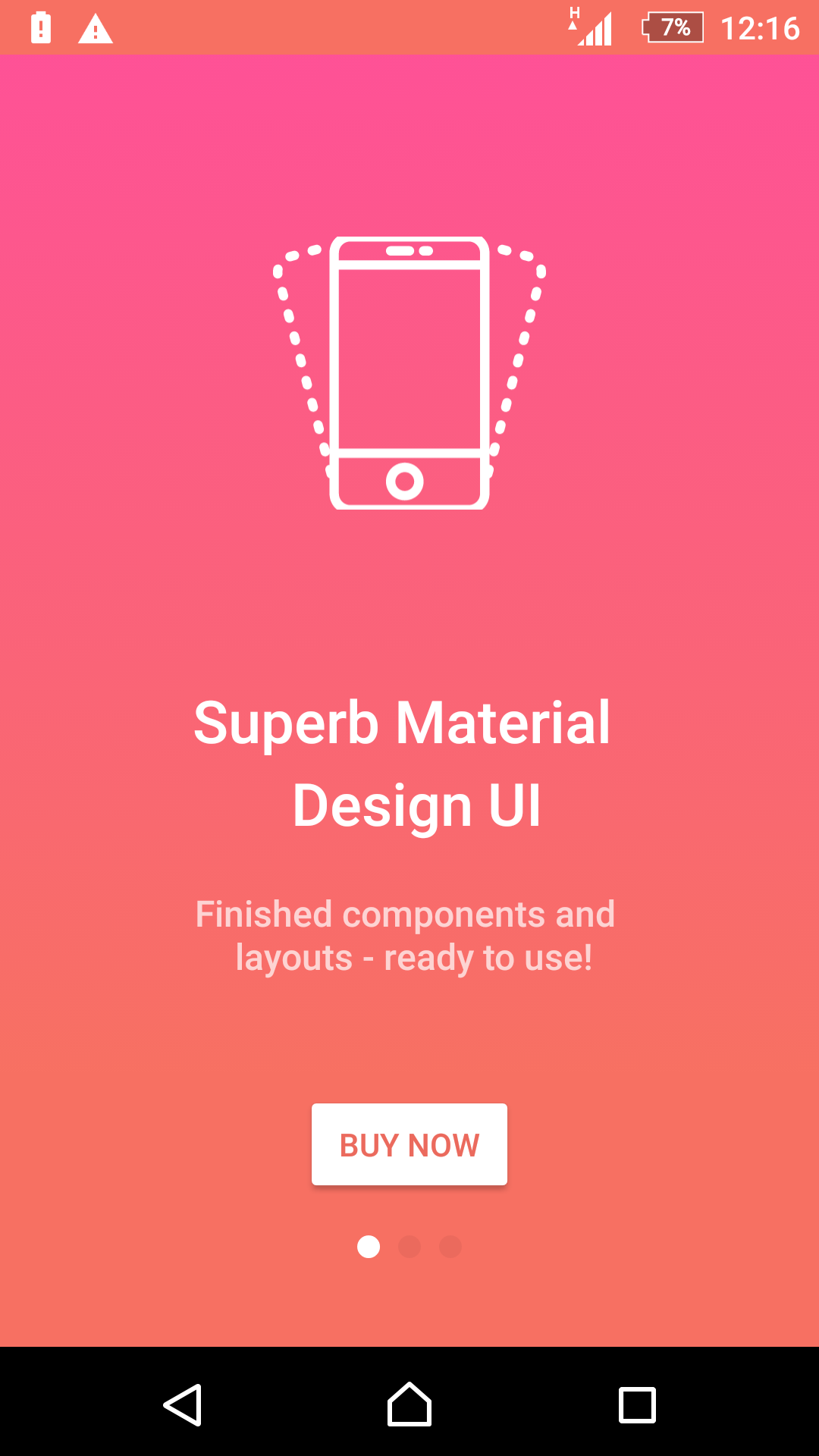 android application design document template