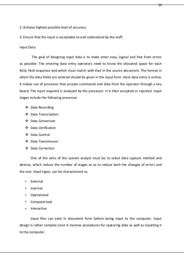 srs document for website project