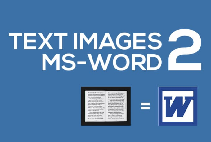 how to delete a word from a scanned document