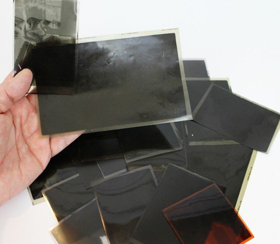 how to reproduce a document from a negative film