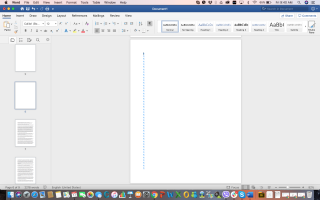 delete page from microsoft word for mac document