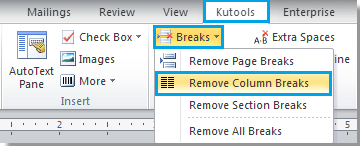 how to add columns to a word document