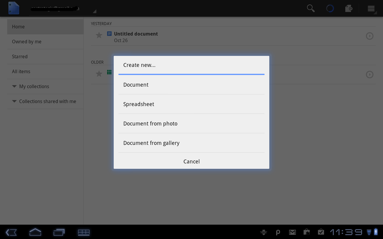 create document image private android