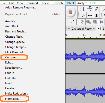 how to make an audiofile to a document