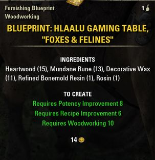 hlaalu master furnishers document list