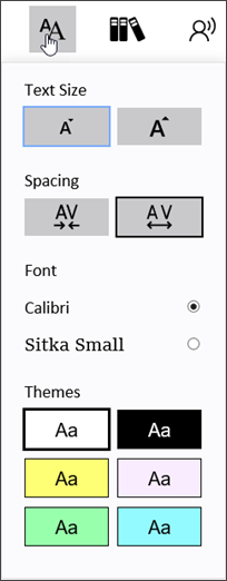 how to change the speech voice on word document