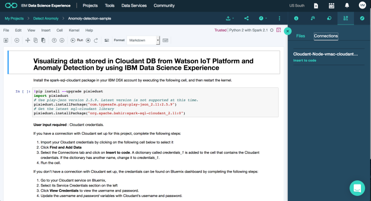 how to fetch a document from cloudant db using python