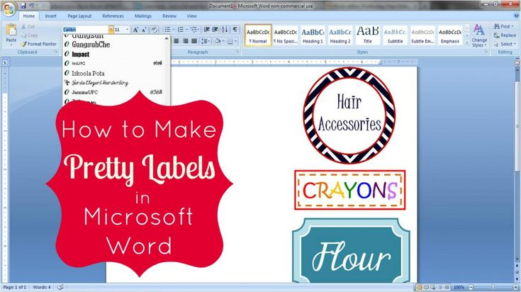 how to print word document centered
