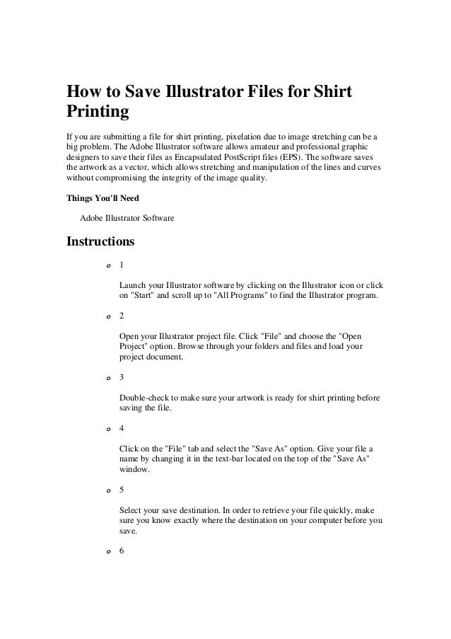 how to save a document you will print