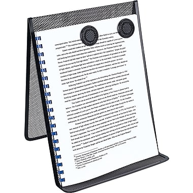 staples metal mesh document holder