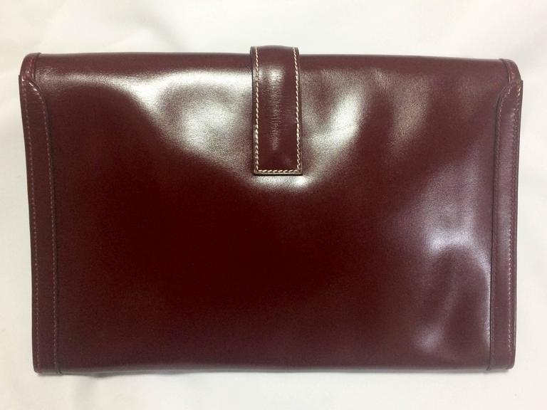 vintage leather document pouch wells fargo