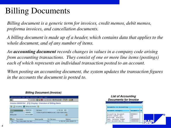 what is a proforma document